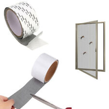 cute Window Door Screen Patch Repair Tape Black Mesh Hole Repaire Tape
