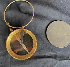 Vintage Signed Keuffel & Esser Co Handheld Compass (Working)