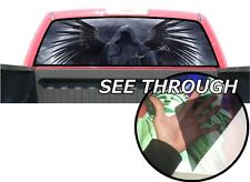 P23 Grim Reaper Rear Window Tint Graphic Decal Wrap Back Pickup Graphics