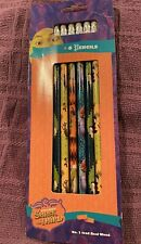 Shrek the 3rd 2007) Six Pencil Set #2 Wood Innovative Retired Nip In Package New