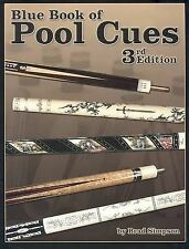 USED (GD) Blue Book of Pool Cues, 3rd Edition by Brad Simpson