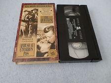 CLASSIC WESTERNS - THE QUIET GUN & AMBUSH AT CIMARRON PASS - (VHS) - SCOTT BRADY