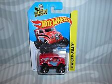 2014 HOTWHEELS ''HW OFF-ROAD'' #122 = MONSTER DAIRY DELIVERY = RED  int.