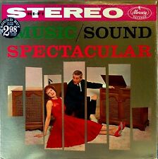MUSIC / SOUND SPECTACULAR - MERCURY SRD-2 - STEREO LP - VARIOUS ARTISTS