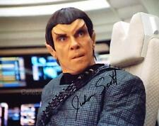 JUDSON SCOTT as Com.Rekar - Star Trek: Voyager GENUINE AUTOGRAPH UACC (Ref:9376)