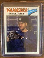 Derek Jeter Baseball Card #200 Topps Archives MLB HOF New York Yankees NM-MT