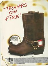 TRAMPS on Fire - Boots - Print Ad # 02 3