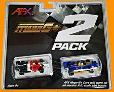 AFX 22017 Mega G+ HO Formula Slot Car 2 Pack AFX22017 MageG+