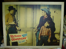 RETURN TO WARBOW, orig 1958 LC #3 () - two outlaws hold a boy captive