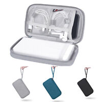 New Portable Digital Storage Bag Data Cable Organizer Case Earphone Wire Pouch