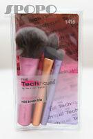 Real Techniques Mini Trio Brush Kit (Foundation/Shading/Face)100% Authentic 1416