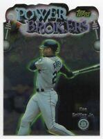 1999 TOPPS POWER BROKERS #PB3 KEN GRIFFEY JR. — NM-MT (8)+