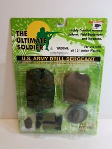 21st Century Toys Ultimate Soldier U.S. Army Drill Sergeant 1:6 Scale Sealed
