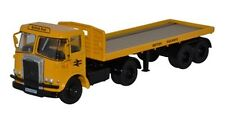 Oxford Diecast 76Atk003 Atkinson Borderer Flatbed Lorry British Rail Oo 1/76