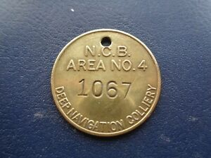 Deep Navigation Colliery Miners Mining Pit Check Token South Wales Area