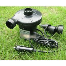 Airbed Compressor Portable Electric Pump Inflator Nozzles for Car Bed Balls 12V