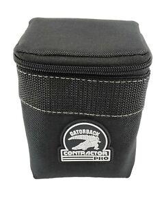 Gatorback B608 Zippered Add-On Pouch. Attachable & Tool Belt Ready.