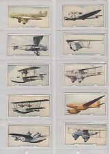 Godfrey Phillips Full set 54 Aircraft 1938  (Mat)      Very Good (Near Mint)