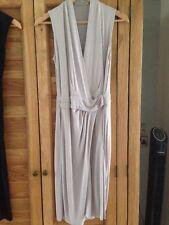 All Saints Novi Light Grey Dress Size 10 Bnwot Rrp £99