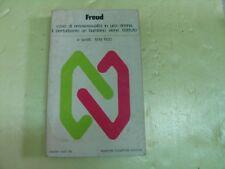 FREUD - CASO DI OMOSESSUALITA' IN UNA DONNA Ed. Newton Compton 1976
