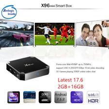 X96 MINI 4K S905W 64bit Android 7.1 3D 2+16GB TV Box latest 17.6 WIFI HDIM 1080P