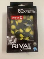 New in box Nerf Rival Precision Battling High Impact Rounds 80 pieces foam balls