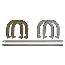 Professional Horseshoe Set Outdoor Sports Horse Shoes Game Backyard Games New