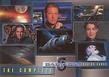 BABYLON 5 THE COMPLETE SET OF 120 CARDS
