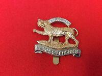 High Quality Leicestershire Regiment Cap / Beret Badge