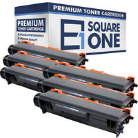 Compatible Toner Cartridge Replacement for Brother TN750 TN720 (Black, 6-Pack)