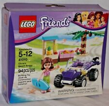 SEALED 41010 LEGO Friends OLIVIA BEACH BUGGY Vehicle Ocean Water Surfer 94pc set