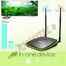ROUTER MODEM ADSL 1200Mbps TENDA D1201 DUAL CORE CPU UNIVERSALE USB WIRELESS