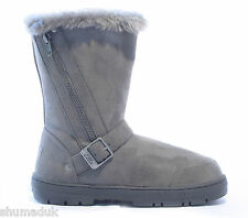 """Ella shoes """"Libby"""" faux fur snow warm winter boot all UK sizes 3-8."""