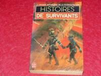 [BIBLIOTHEQUE H. & P.-J. OSWALD] HISTOIRES DE SURVIVANTS COLL.GASF SF 1983 EO