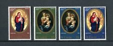 St LUCIA 1968 Christmas Murillo paintings complete set MNH (A-1709)