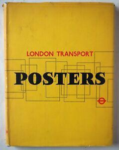 LONDON TRANSPORT POSTERS / HARDBACK WITH D/W / LONDON TRANSPORT BOARD 1963