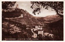 # NOCERA UMBRA: LA VALLE DEL TOPINO- PANORAMA 1941