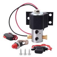Brake Line Lock Front Roll Control Line Lock Universal Kit Electric Solenoids