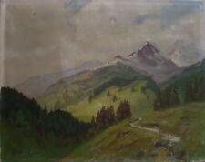 ::GEORG LEHMANN-FAHRWASSER *1887 DANZIG °POLEN LANDSCHAFT °ÖTZTALER ALPEN ITALY
