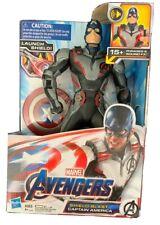 Marvel Avengers: Endgame Shield Blast Captain America 13-Inch Figure, 4+ New
