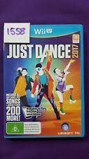 Just Dance 2017 Nintendo Wii U Original Aus PAL