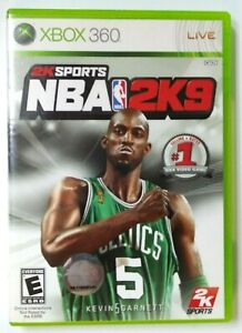 NBA 2K9 (Microsoft Xbox 360, 2008) Case And Instructions ONLY
