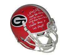 Nick Chubb Autographed Georgia Bulldogs Authentic Helmet w INSCRIPTIONS Beckett
