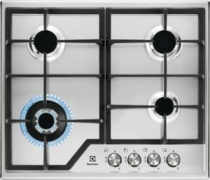 Electrolux KGS6436BX 60cm Stainless steel Gas Kitchen Hob New