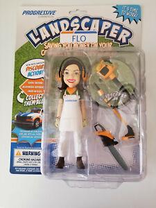 Progressive Flo Landscaper - Promotional Collectible Action Figure Gardener New