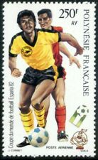 French Polynesia-1982. FIFA World Cup Spain 82. MNH. 9€