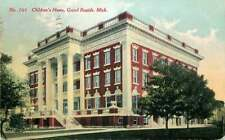 Postcard Children's Home, Grand Rapids, Michigan - used 1920 - Orphanage