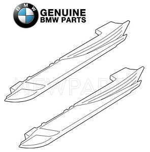 For BMW F12 640i 650i Pair Set of Front Left & Right Side Marker Lights Genuine