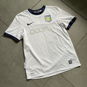 Aston Villa NIKE 2009 2010 Away Football Shirt S Excellent Rare Sponsor Soccer