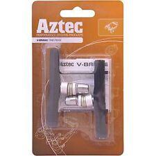 Aztec V-type one-piece brake blocks charcoal